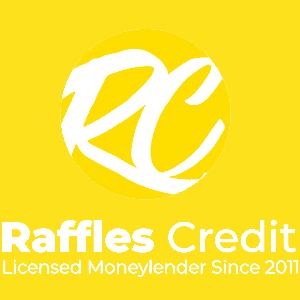 Raffles Credit logo white